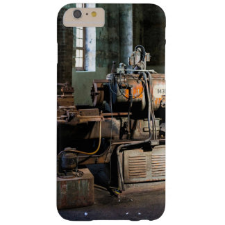 Rusty machinery in an empty factory barely there iPhone 6 plus case
