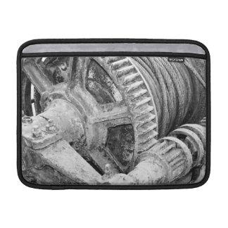 Rusty machinery MacBook air sleeve