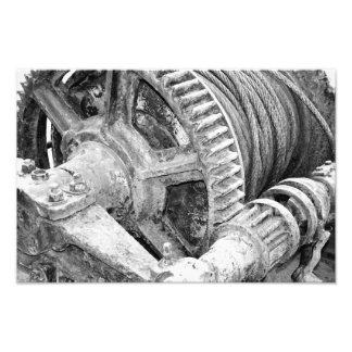 Rusty machinery photo