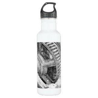 Rusty machinery water bottle