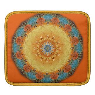 Rusty-Mandala / Rost-Art iPad Sleeves