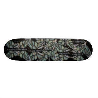 Rusty metal butterfly graphic art cool skateboard