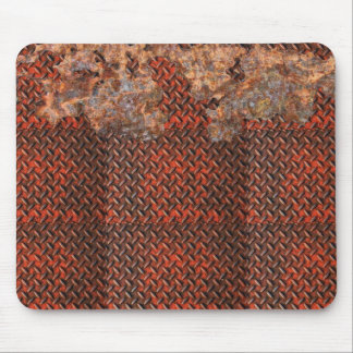 Rusty Metal Funny Corroded Steel Gift Mouse Pad