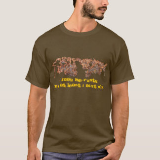 Rusty Metal Funny Corroded Steel Gift T-Shirt