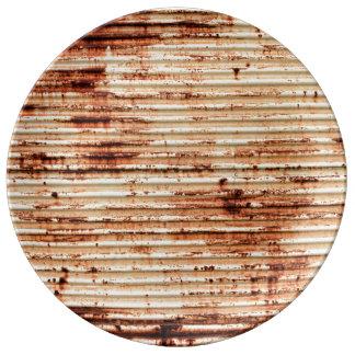 Rusty Metal Grunge Background Plate