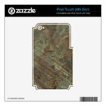 Rusty Metal iPod Touch 4G Decal