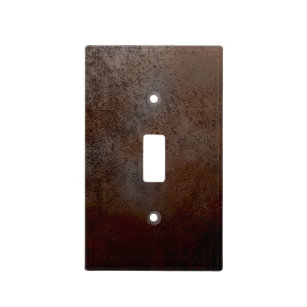 Rusty Metal Light Switch Cover