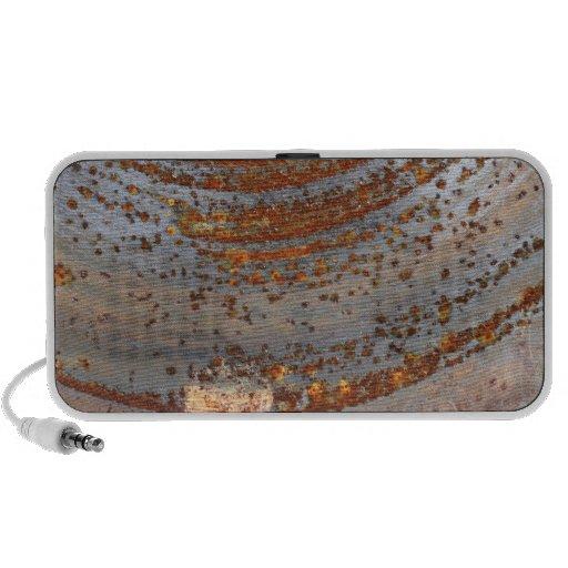 Rusty Metal Texture 5 Portable Music Speaker