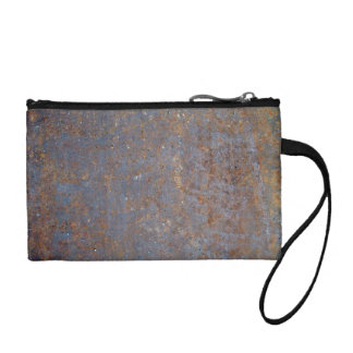 Rusty Metal Texture Change Purse
