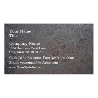 Rusty Metal Texture Double-Sided Standard Business Cards (Pack Of 100)