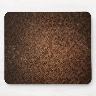 Rusty Metal Tread Mouse Pad