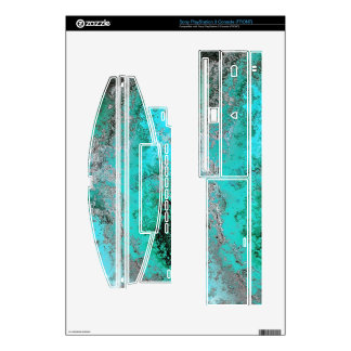 Rusty Modern Green stylish V 1 Decals For The PS3