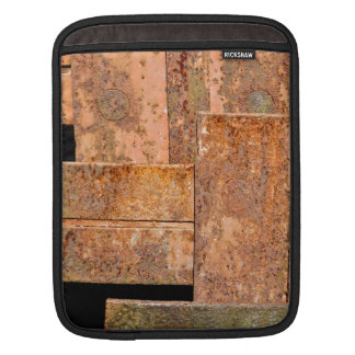Rusty Mondrian Sleeve For iPads