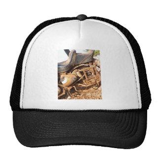 Rusty Motorbike Trucker Hat