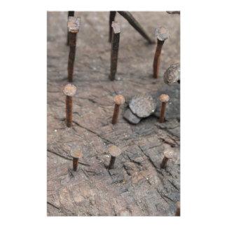 rusty nails stationery