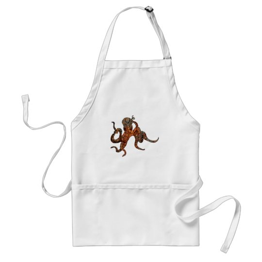 Rusty Octopus Adult Apron