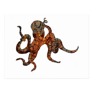 Rusty Octopus Postcard