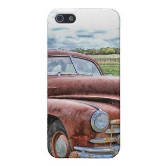 Rusty Old Classic Car Vintage Automobile iPhone SE/5/5s Case
