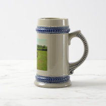 Rusty Old Farm Equipment Beer Stein
