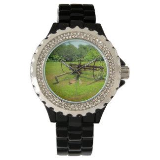 Rusty Old Farm Equipment Wrist Watch