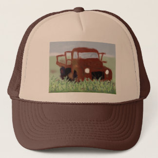 Rusty Old Truck Trucker Hat