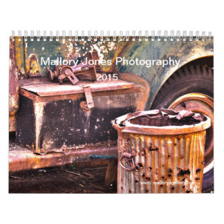 Rusty Old Trucks HDR calendar