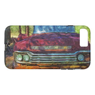 Rusty Old Vintage Truck Abstract iPhone 7 Plus Case