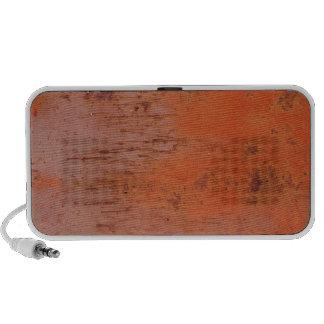 Rusty Orange Metal Texture 1 Portable Speaker