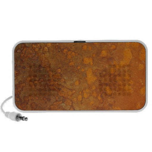 Rusty Orange Metal Texture 2 Portable Speaker