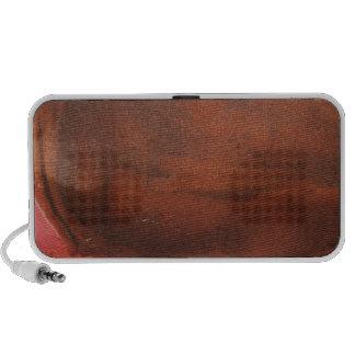 Rusty Orange Metal Texture 3 Portable Speaker