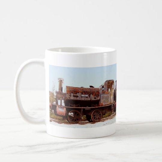 Rusty Railway Steam Engine Locomotive Cup