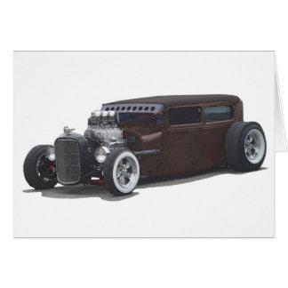 Rusty Rat Sedan Card