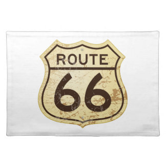 Rusty Route 66 Placemat