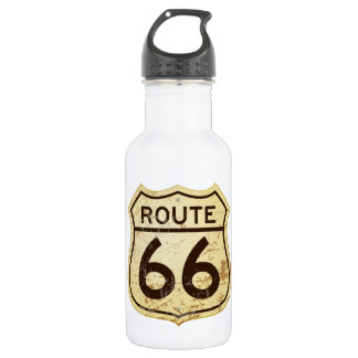 Rusty Route 66 Water Bottle