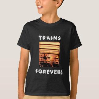 Rusty rr train box car T-Shirt