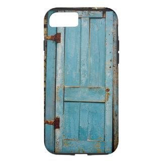 Rusty Rustic Weathered Door Retro Old iPhone 8/7 Case