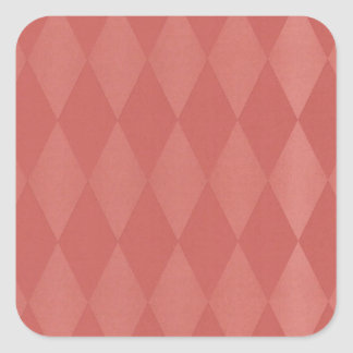 Rusty Salmon Harlequins Square Sticker