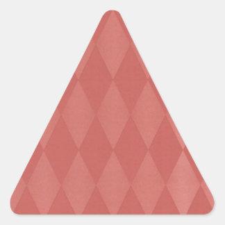 Rusty Salmon Harlequins Triangle Sticker