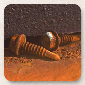 Rusty Screws Laid to Rest Drink Coasters