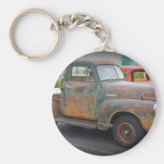 Rusty Short Bed Keychain