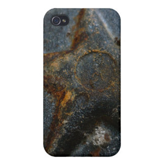 Rusty Star iPhone 4 Cases