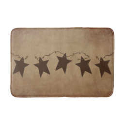 Rusty Stars Bath Mat