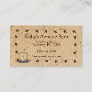 Candles business cards zazzle rusty stars candle business card colourmoves
