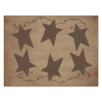 "Rusty Stars Tissue Paper 15"" X 20"" Tissue Paper"