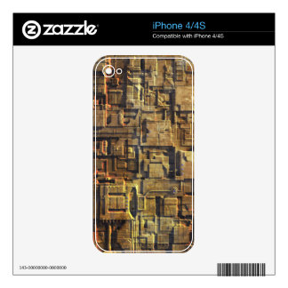 Rusty Starship Hull Skins For iPhone 4S