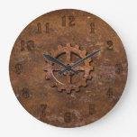 Rusty Steampunk Clock
