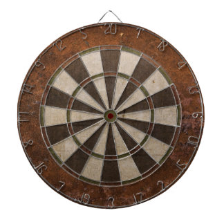 Rusty Steampunk Dartboard