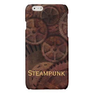 Rusty Steampunk Gears Glossy iPhone 6 Case