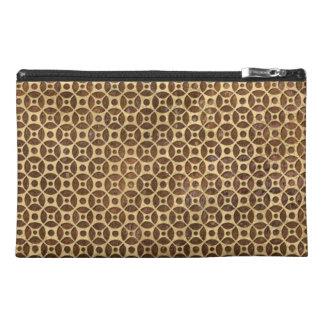 Rusty Steampunk Polka Dot Pattern Travel Accessories Bags