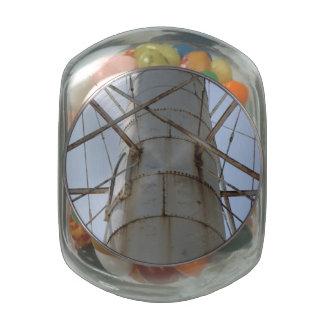 Rusty Steel Beauty Jelly Belly Candy Jar